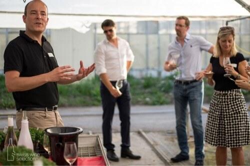Team building autour des meilleurs vins Suisse