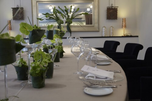 Place de la Fusterie à Genève, un salon pour un évènement exclusif